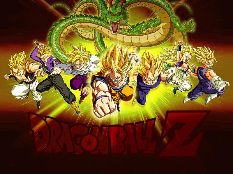 Wallpaper Dragon Ball Z Super Saiyans by Dony910 800x600