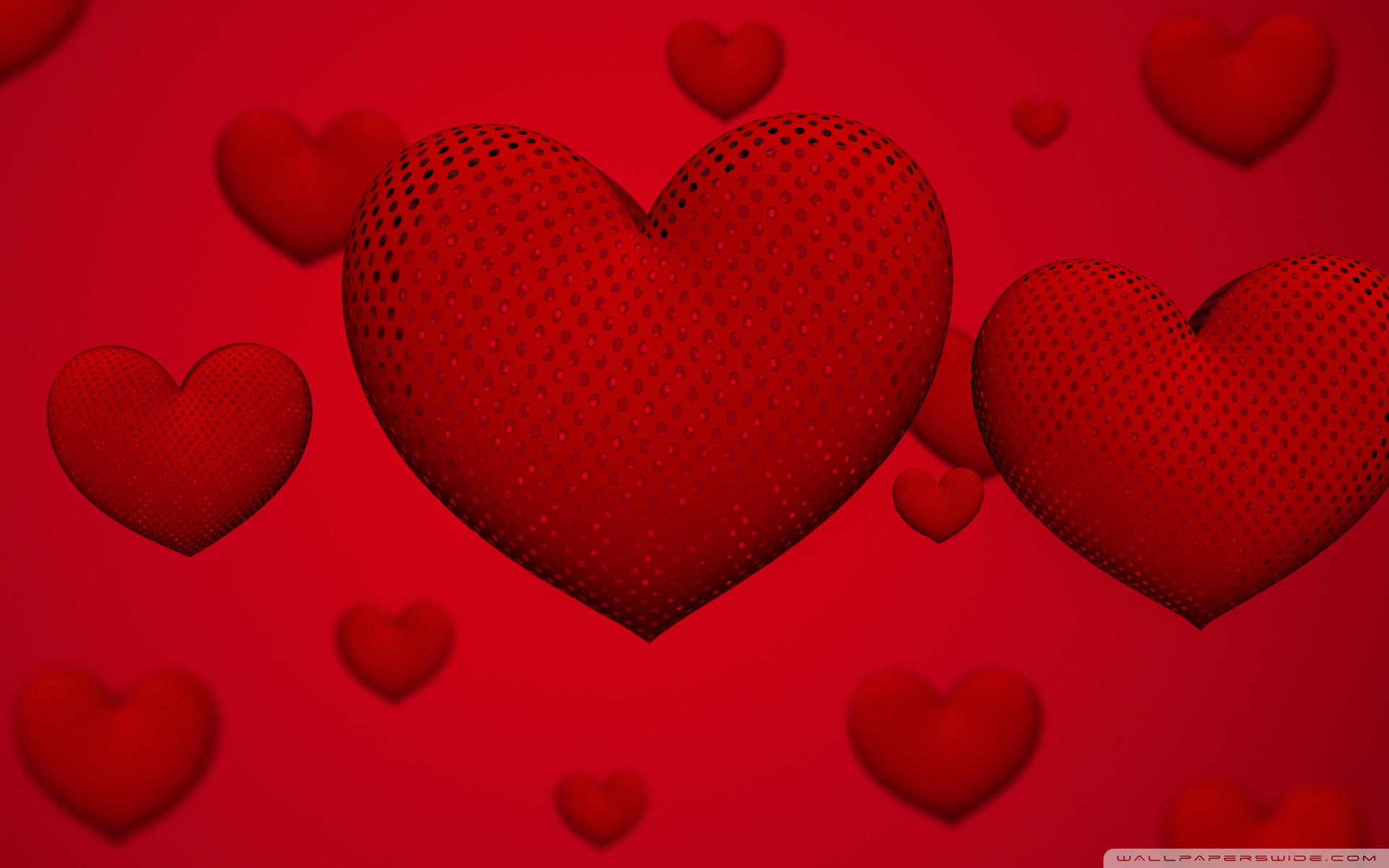 Valentines Day Hearts Ultra HD Desktop Background Wallpaper for 1920x1200