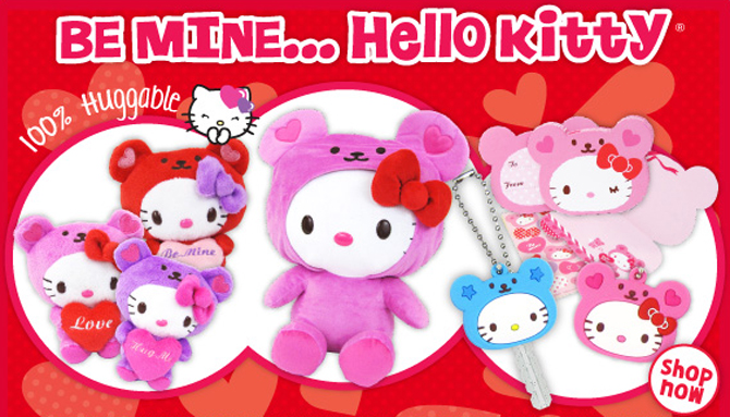Happy Valentines Day Hello Kitty utamainfo 670x383