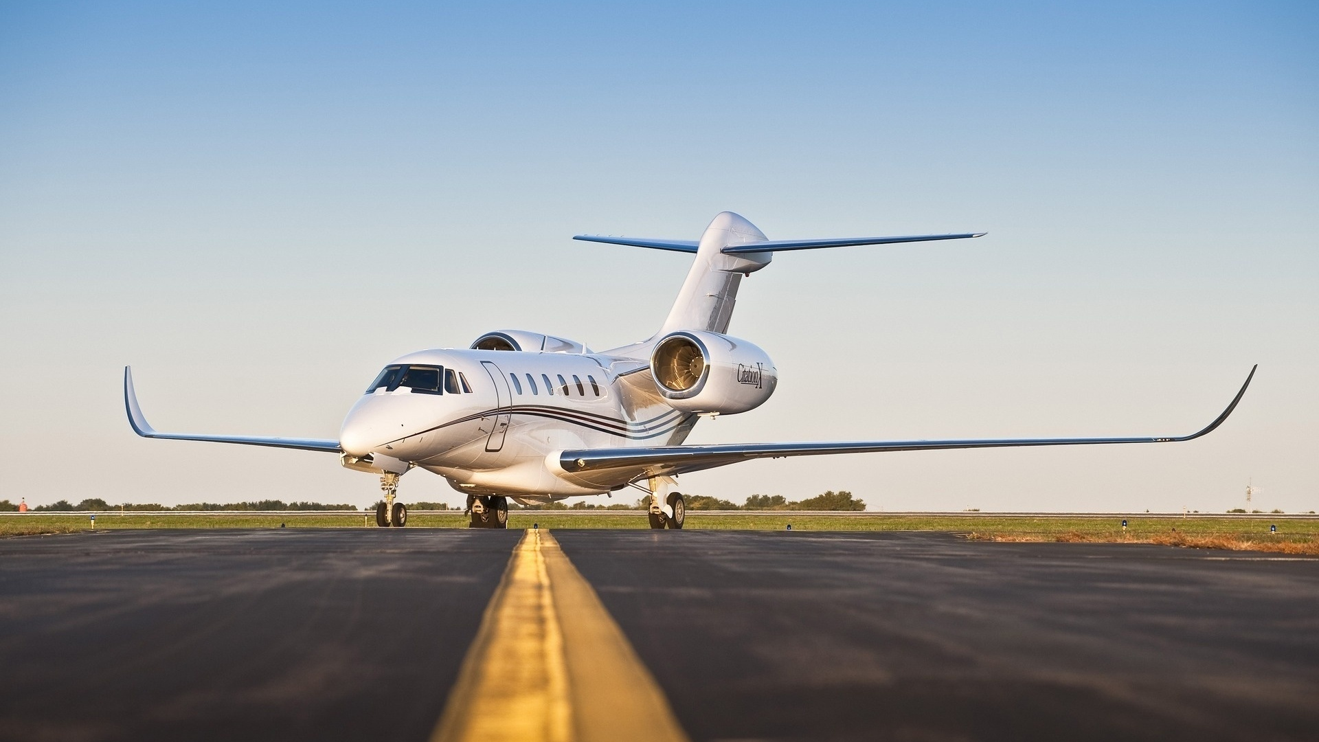 Wallpaper fastest business jet cessna aircraft civil aviation 1920x1080
