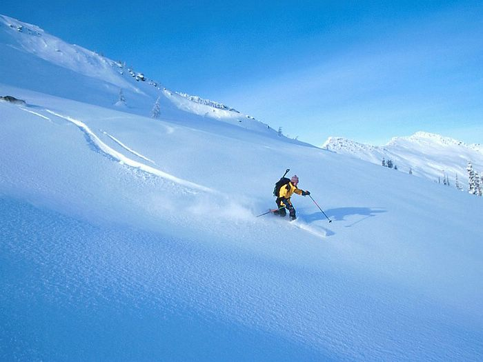 Snow Skiing Wallpapers   Snow skiing   Alpine skiing Wallpaper 1 700x525