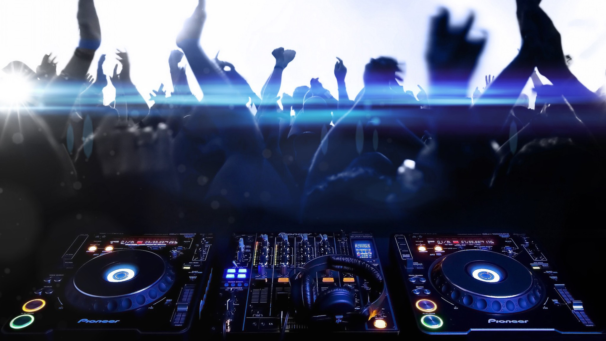 Pioneer DJ Equipment Full HD Wallpaper and Background 2048x1152