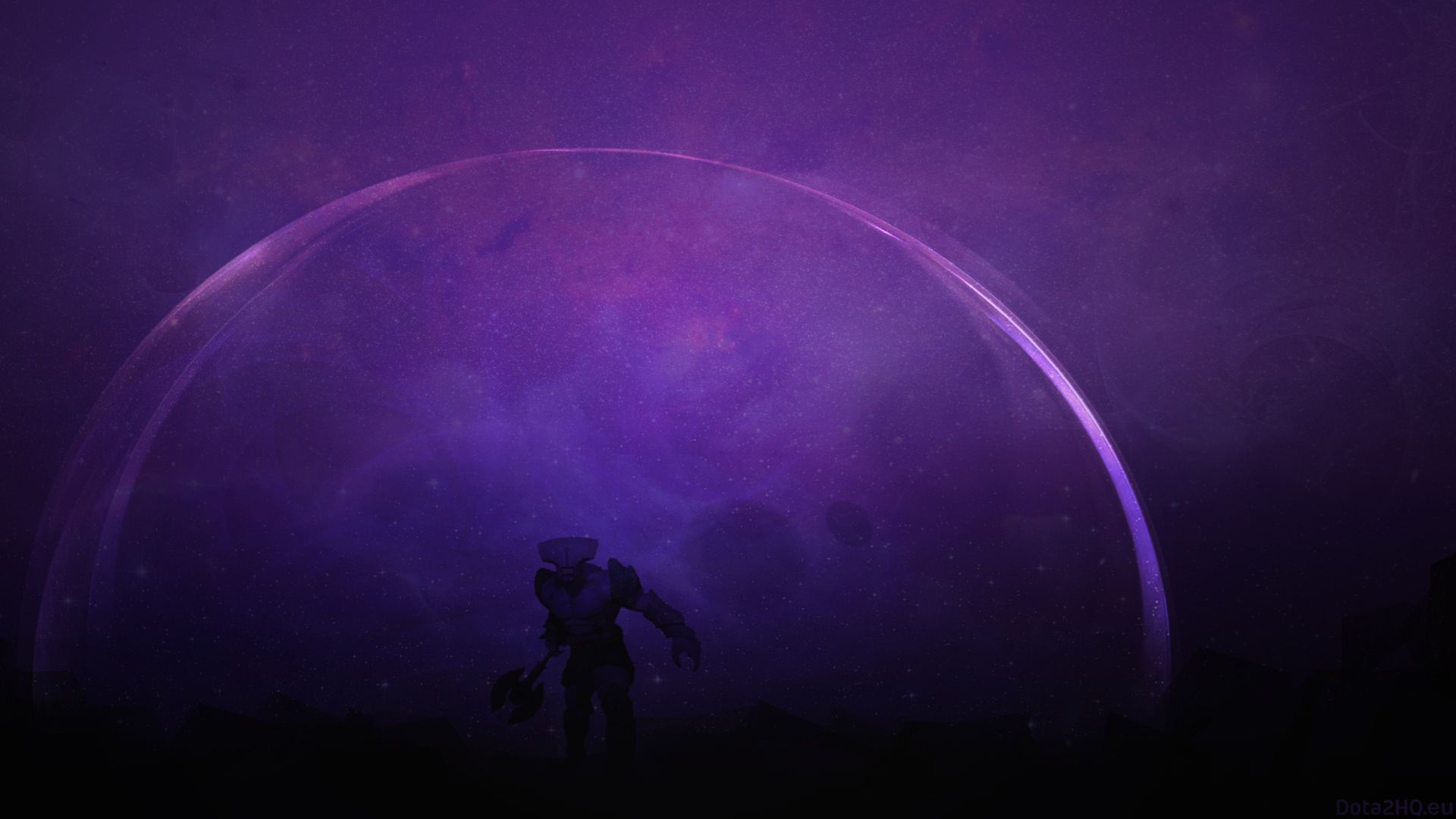 1920x1080 Wallpaper darkterror faceless void dota 2 art Art 1920x1080