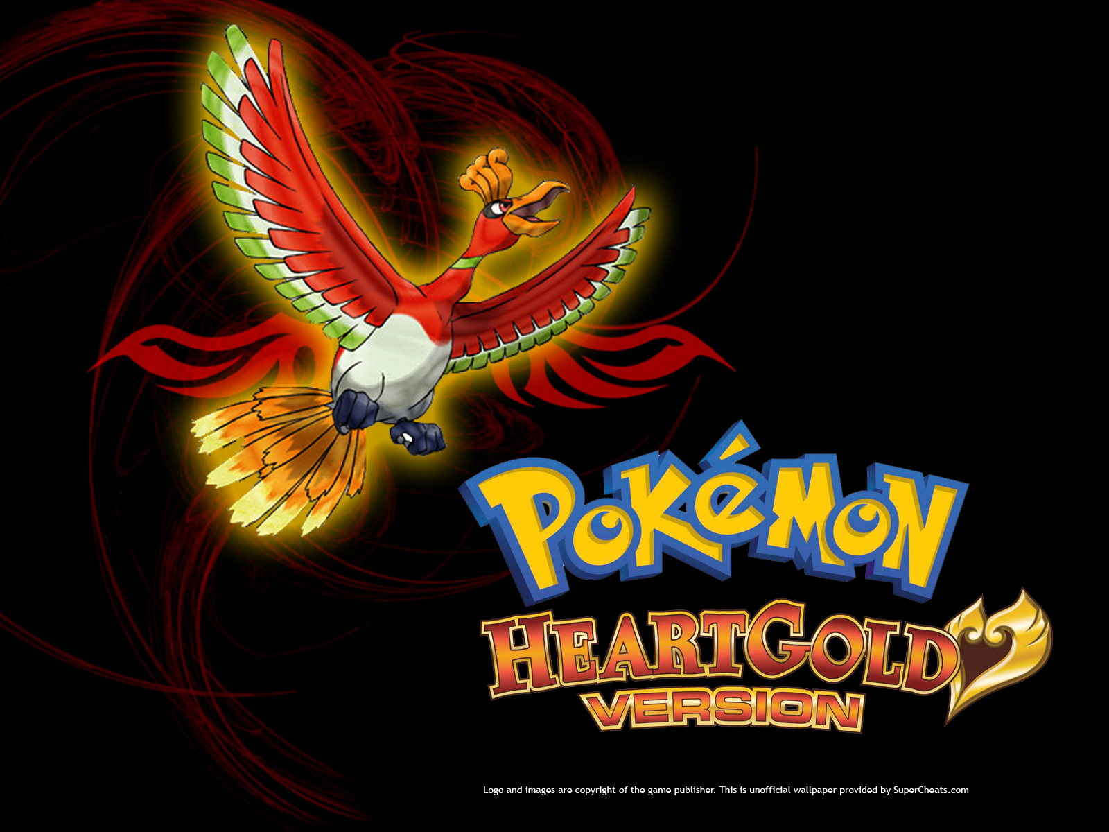 Wallpapers for Pokemon Heart Gold select size 1600x1200 1280x1024 1600x1200