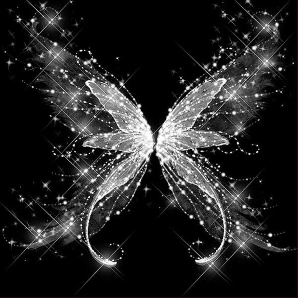 Amazoncom 5D Diamond Painting Rhinestone Crystal Butterfly Dream 1000x1000
