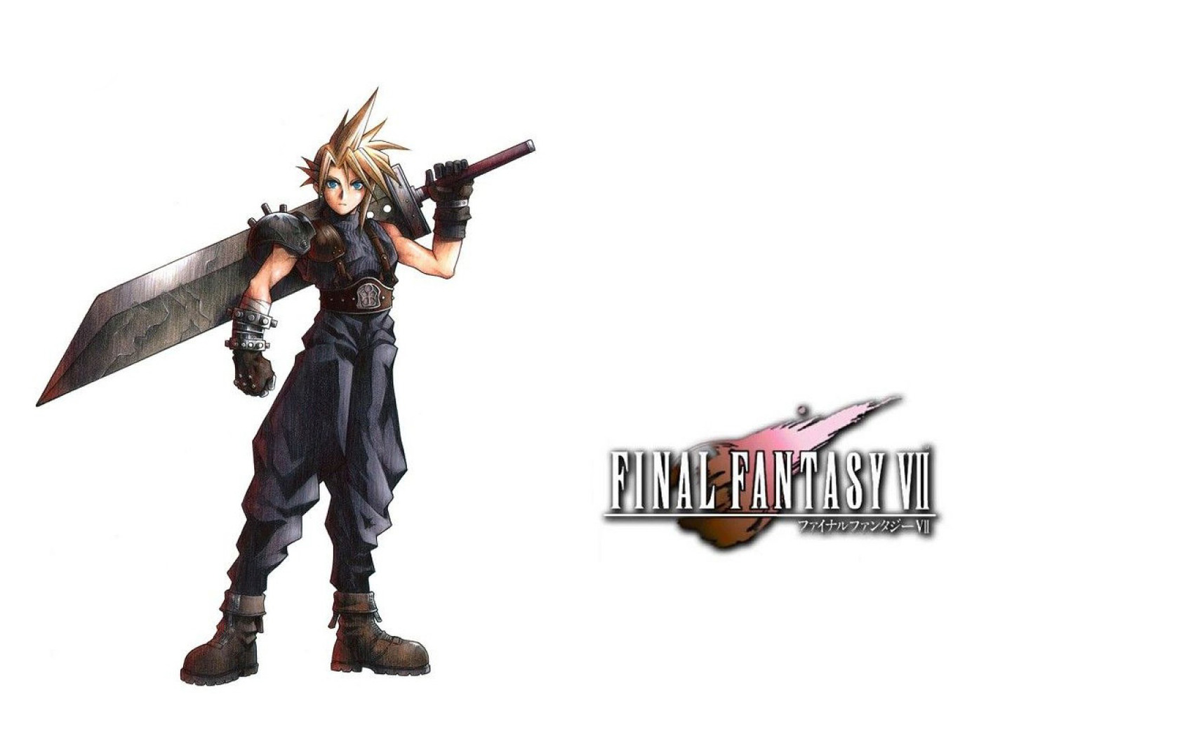 Cloud Strife   Final Fantasy VII Widescreen Wallpaper   2595 1680x1050