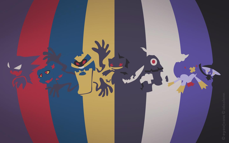 Pokemon Spectrum   Ghost by EYEofXANA 1440x900