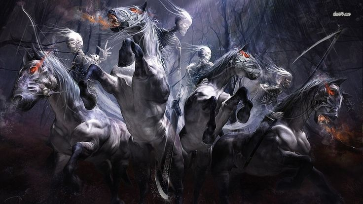 Four Horsemen of the Apocalypse Tattoos Pinterest 736x413