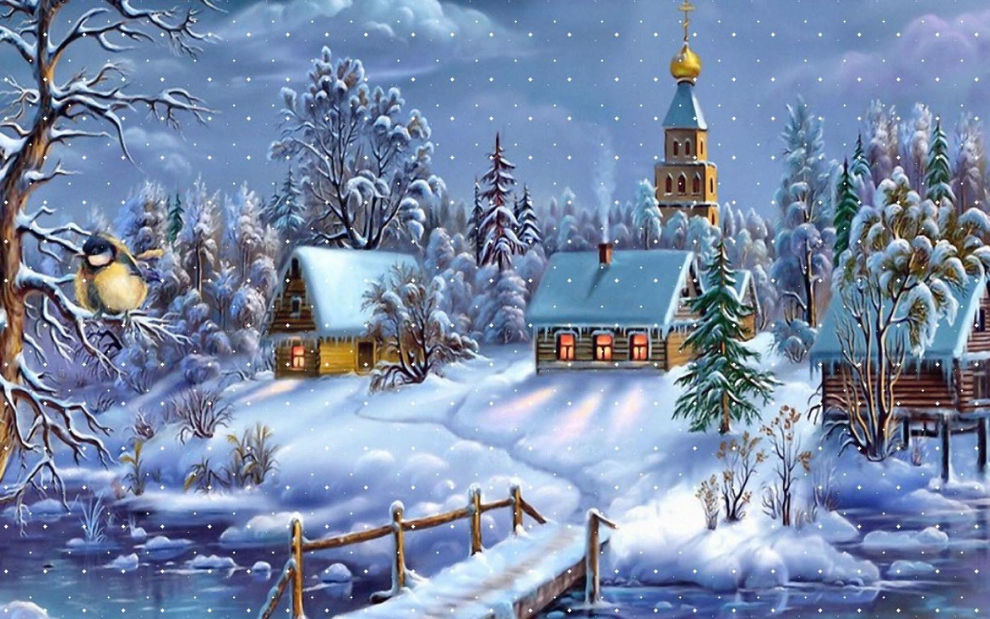 Animated Christmas Wallpaper - WallpaperSafari