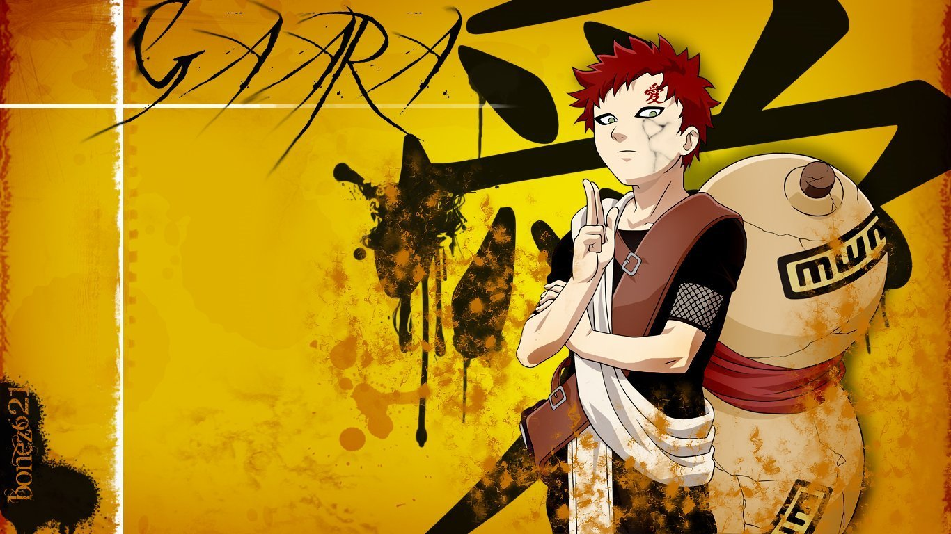 Gaara wallpaper   Suna no Gaara Photo 22070419 1366x768