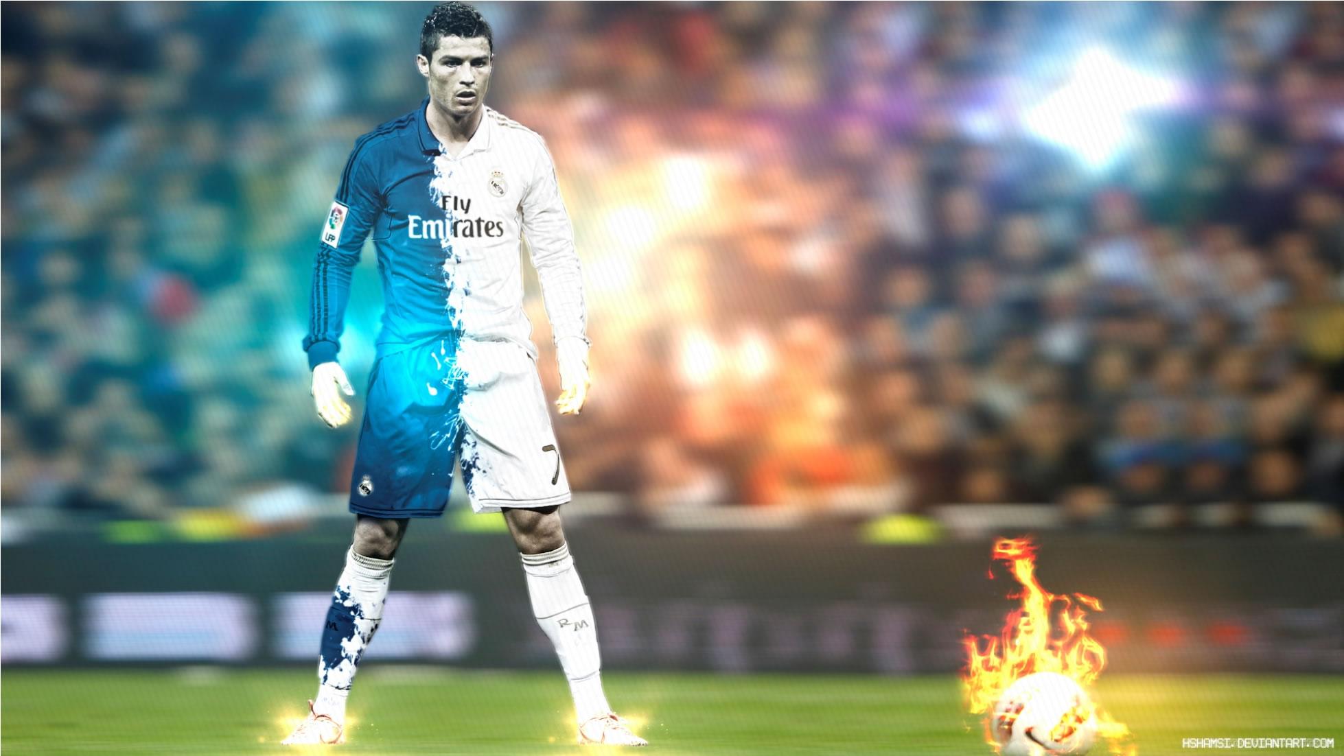 Cristiano Ronaldo wallpaper by Hshamsi - Cristiano Ronaldo Wallpapers