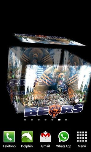 Amazing live wallpaper which will allow you to enjoy the Chicago Bears 307x512