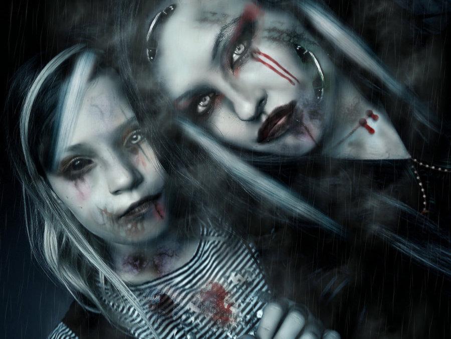 Gothic Girls Wallpaper 900x676