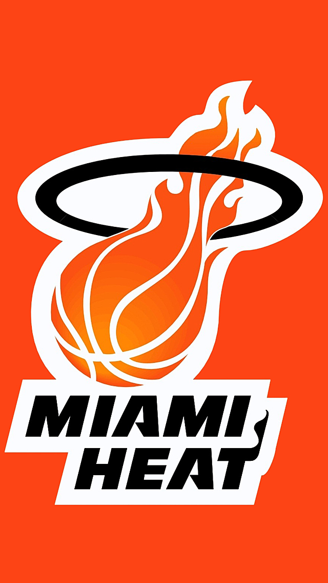 Miami Heat Wallpaper Phone   Amnet 640x1136