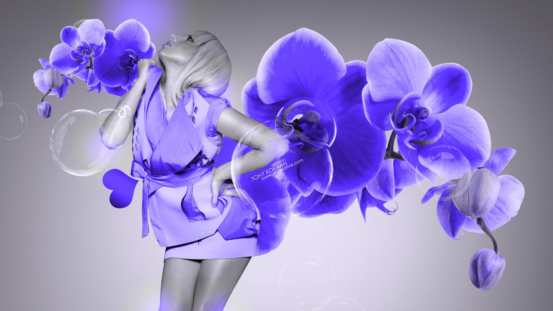 flowers butterfly car 2014 violet neon hd wallpapers design by tony 1920x1080