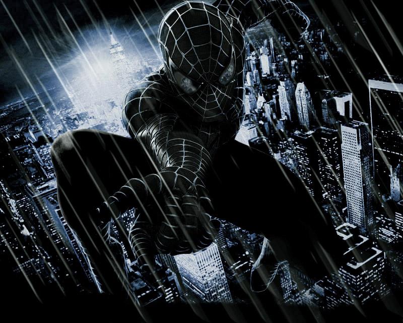 Black Spiderman Wallpaper - WallpaperSafari