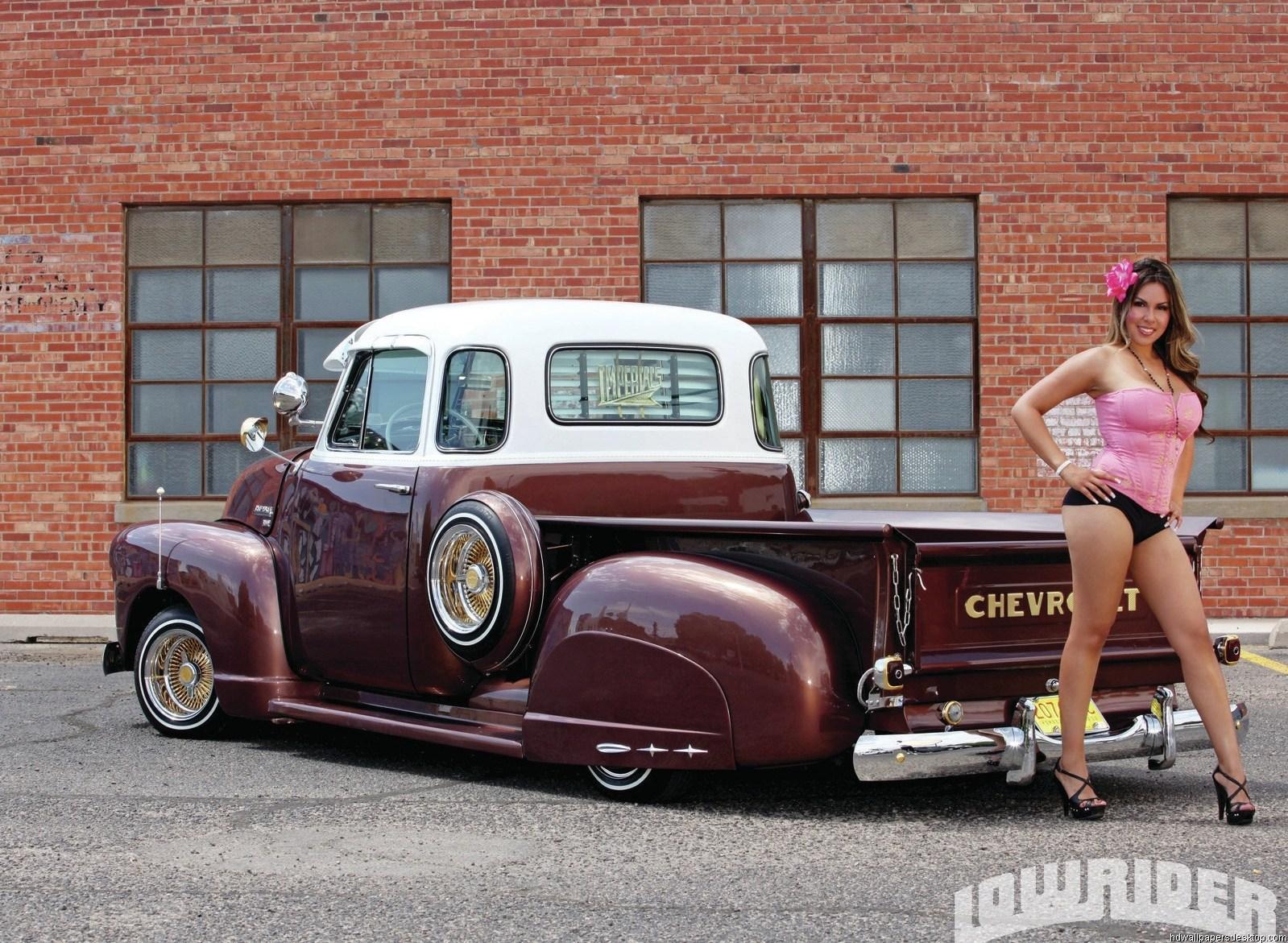 Custom Gmc Trucks >> Girls and Trucks Wallpapers - WallpaperSafari
