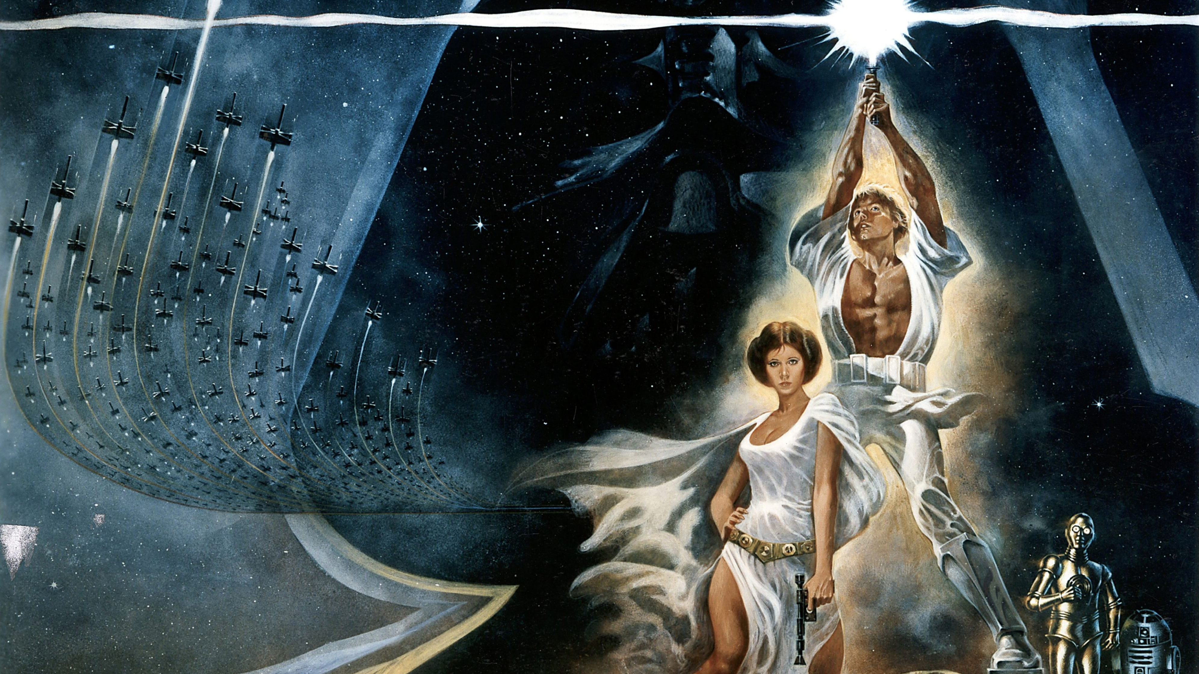 Star Wars opens in theaters   HISTORY 3984x2241