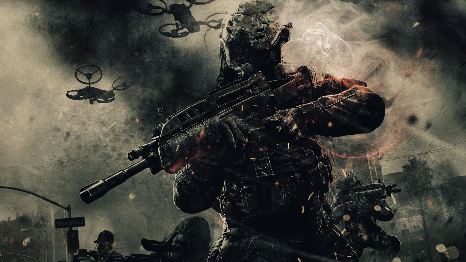 Games Wallpapers   Call of Duty Black Ops 2 1600x900 wallpaper 1600x900