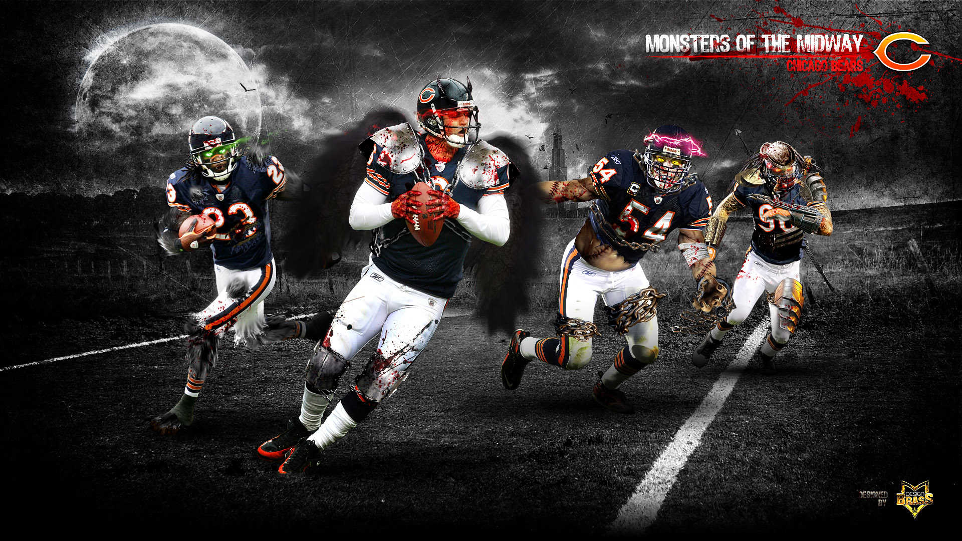 CHICAGO BEARS nfl football j wallpaper 1920x1080 156158 1920x1080