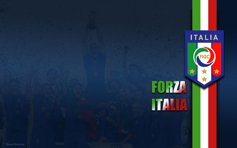 italy soccer forza italia wallpaper Forza azzuri 1440x900