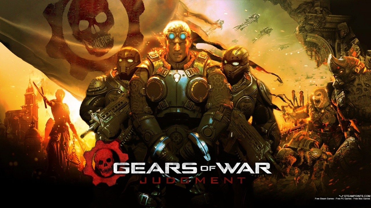 1280x720 2013 Gears of War Judgment Gam desktop PC and Mac wallpaper 1280x720