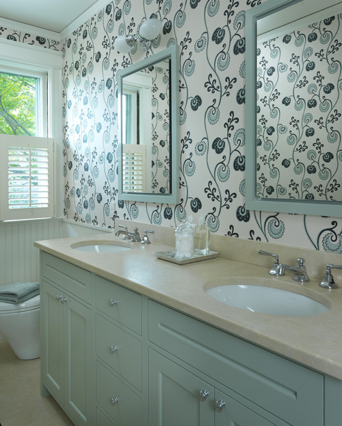 How do you prevent peeling paintwallpaper in the bathroom 500x622