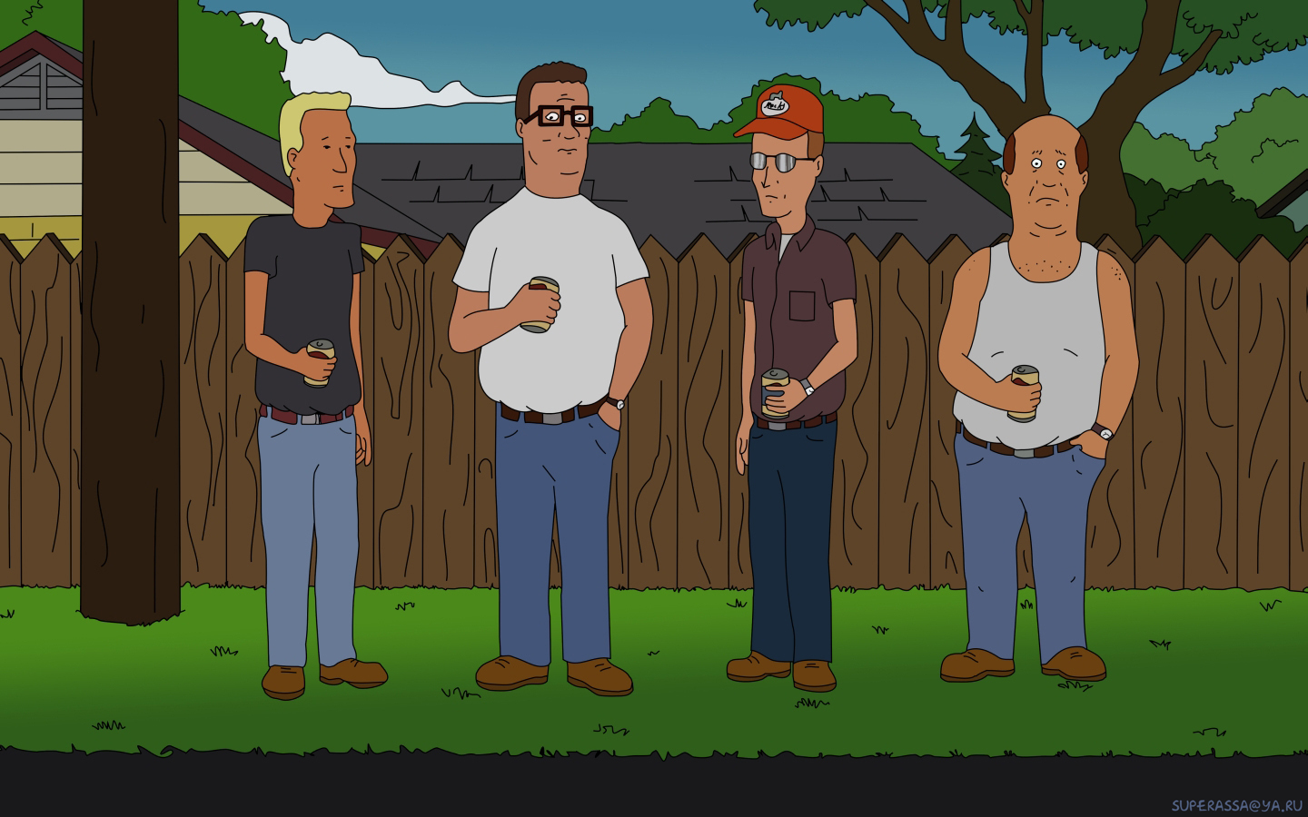 47 King Of The Hill Wallpaper On Wallpapersafari
