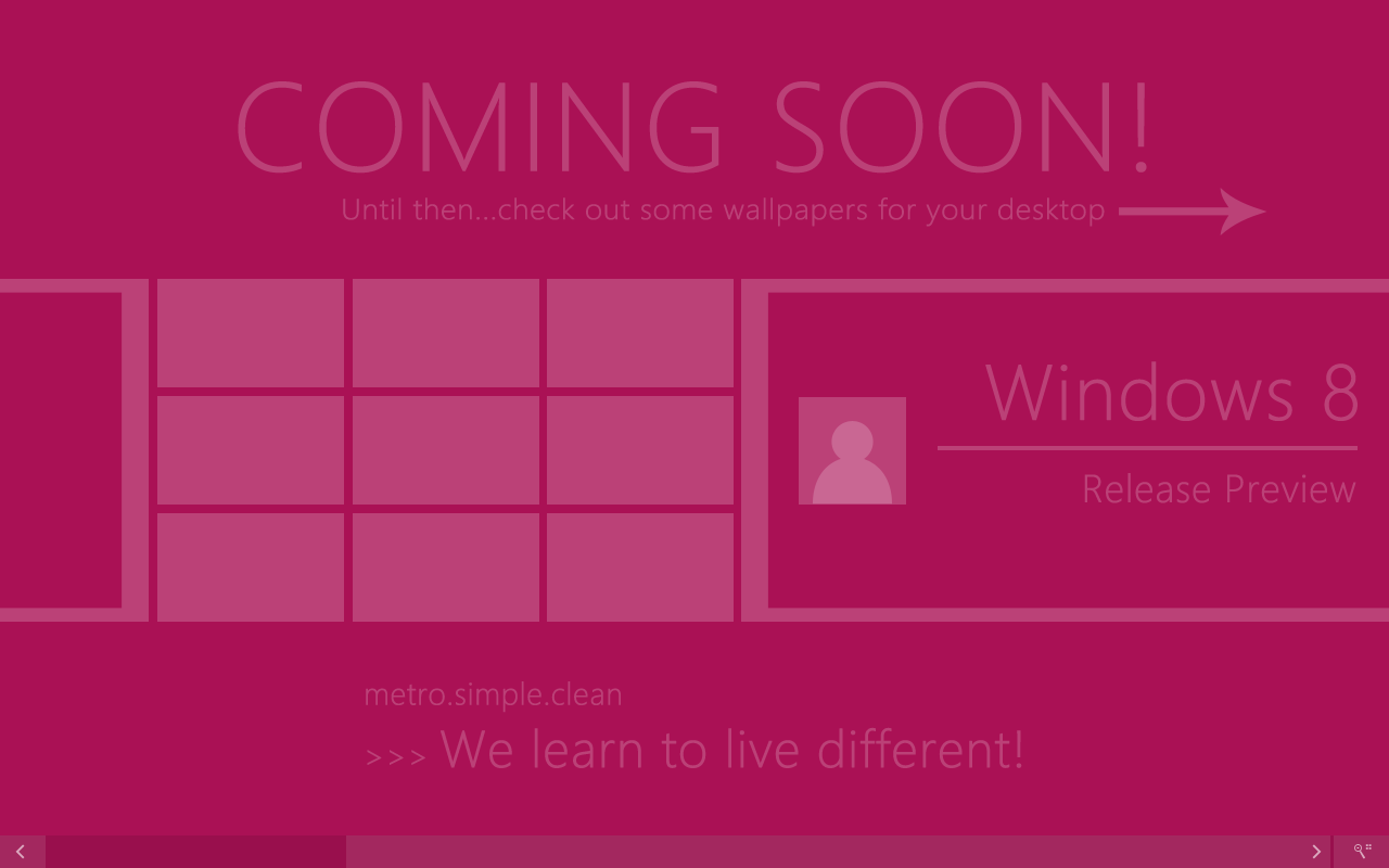 Windows 8 Release Preview Wallpapers by andreascy 1280x800