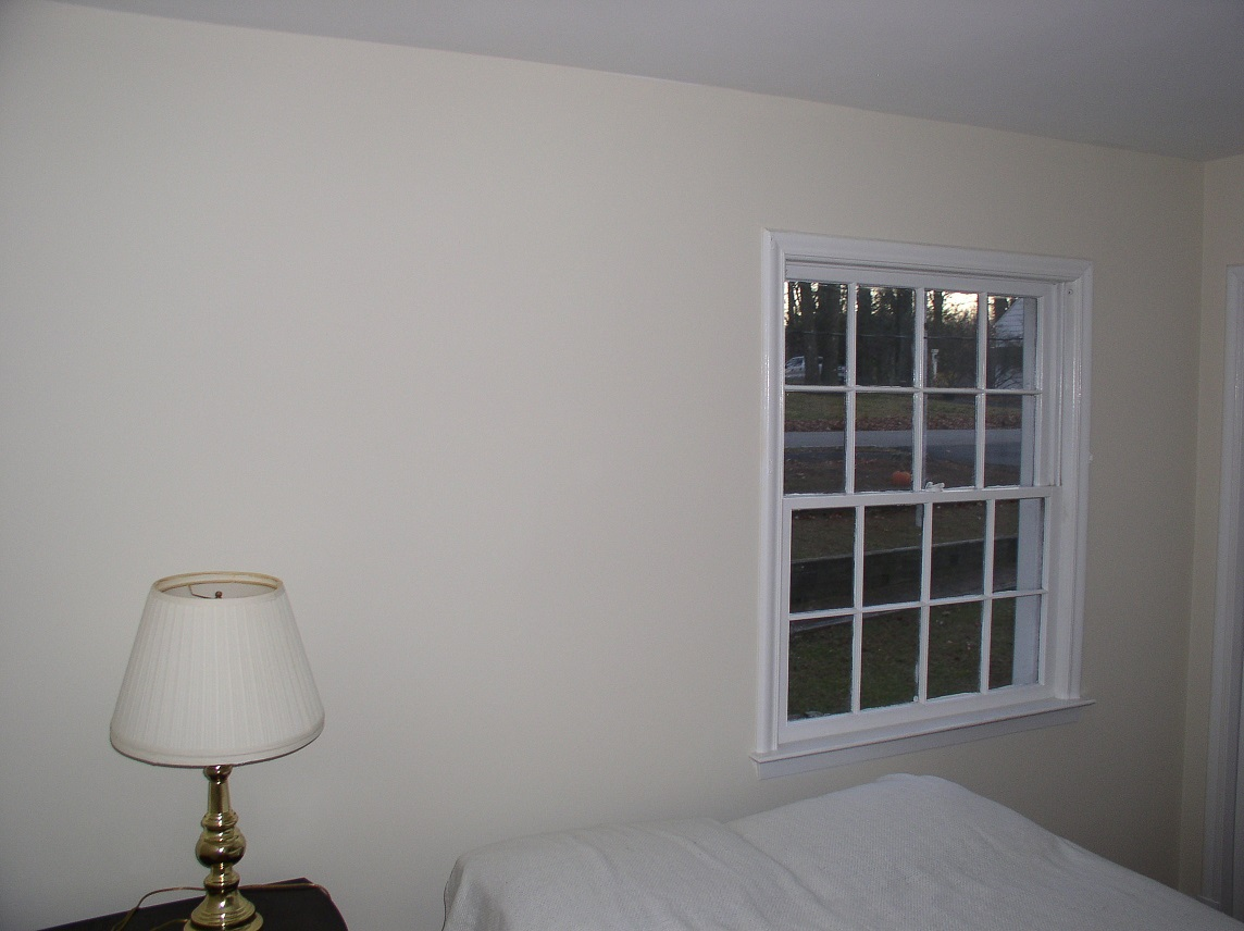 Painted Bedroom after Wallpaper Removal Morristown NJ Painting 1144x856