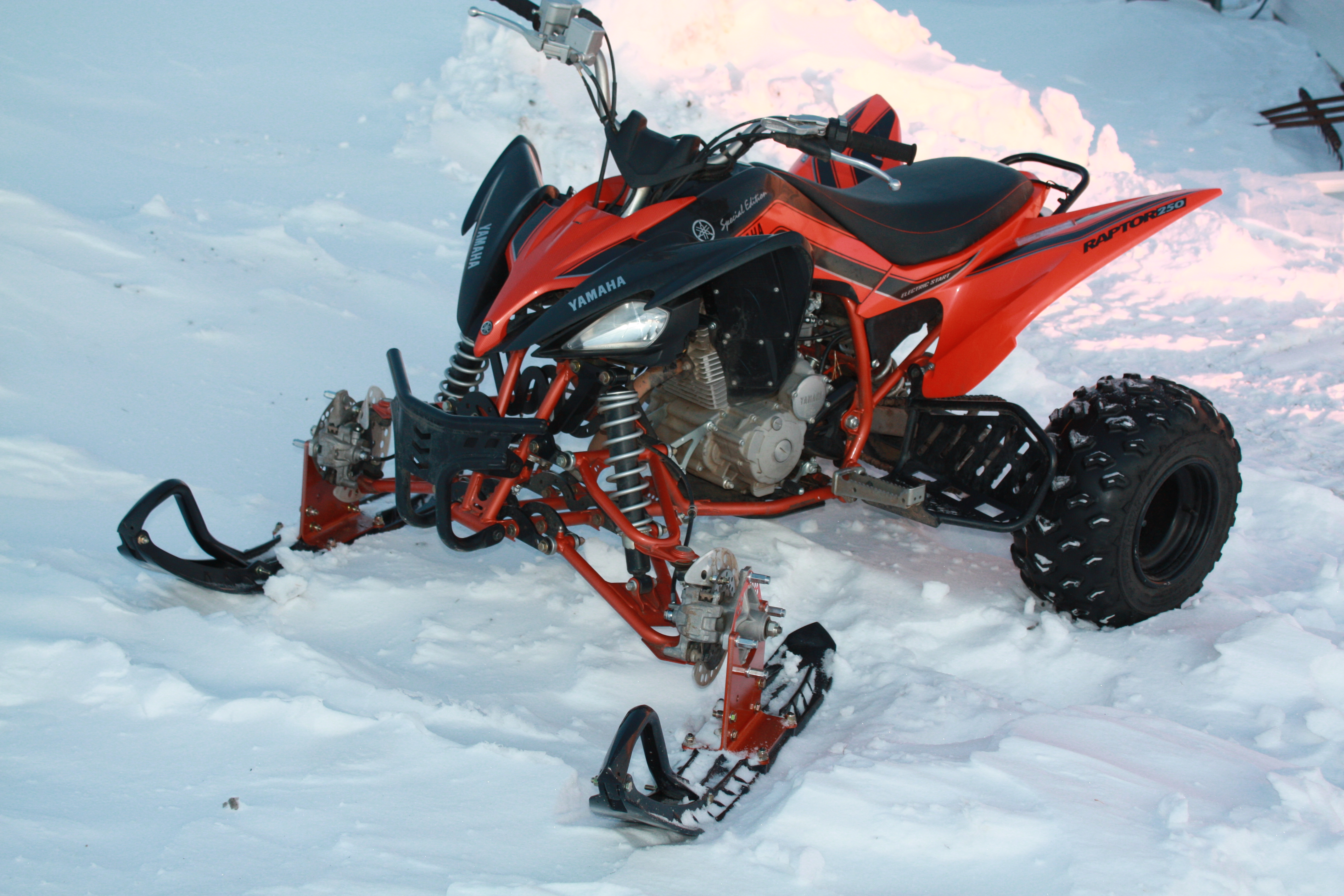 YAMAHA RAPTOR atv quad offroad motorbike bike dirtbike snowmobile snow 4272x2848