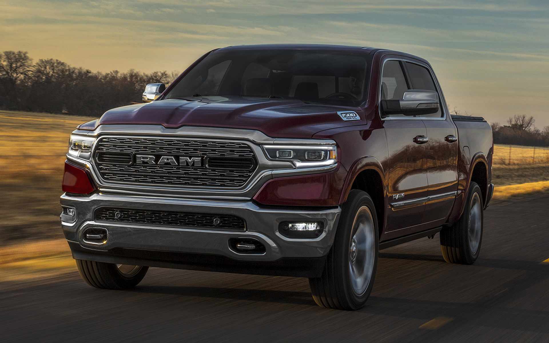 2019 Ram 1500 Limited Crew Cab [Short]   Wallpapers and HD Images 1920x1200