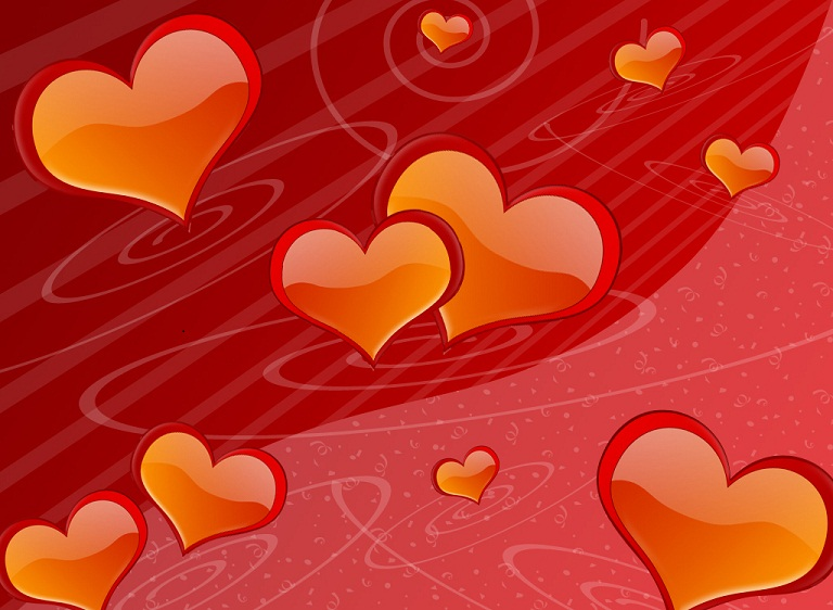 3D Valentine Wallpapers Valentines Day 3D Wallpapers 768x562