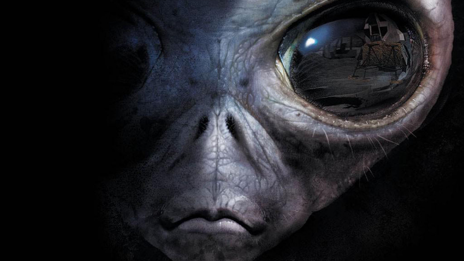 download wallpapers Alien Eyes Wallpapers [1600x1200] for 1536x864