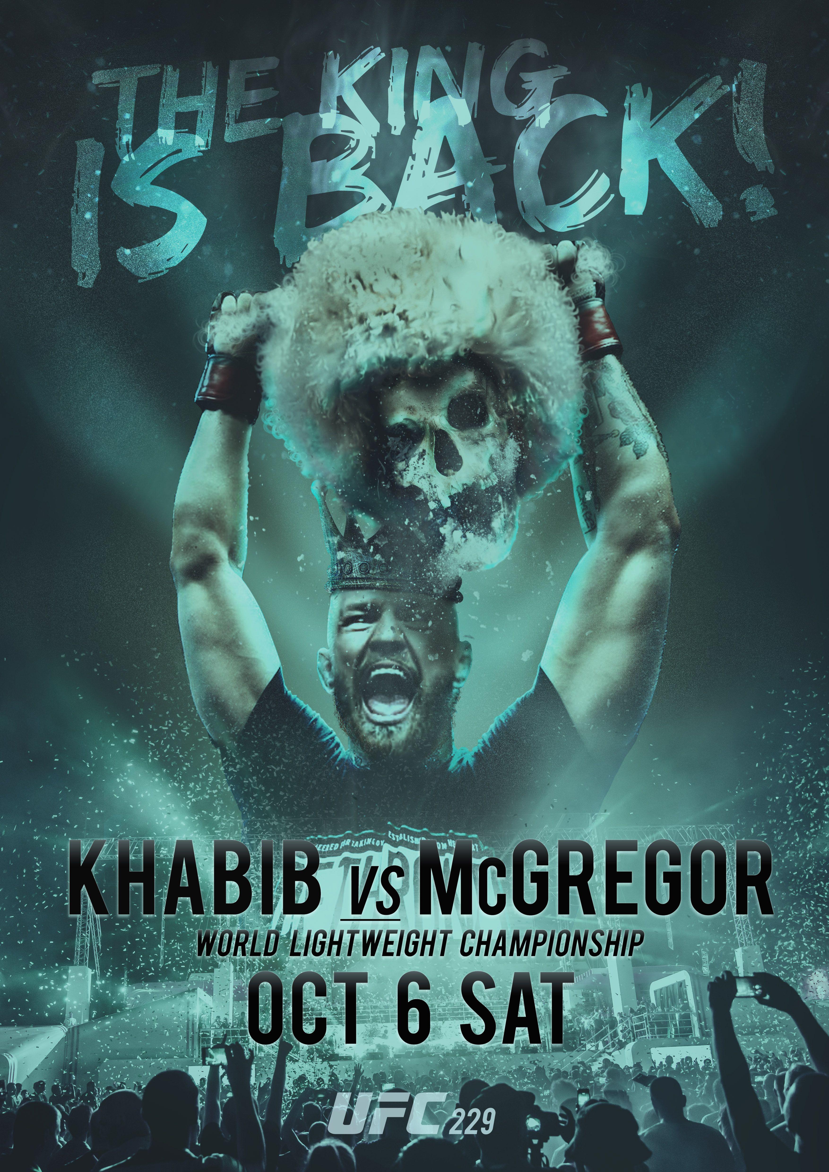 McGregor vs Khabib UFC Ufc conor mcgregor Connor mcgregor 3508x4961