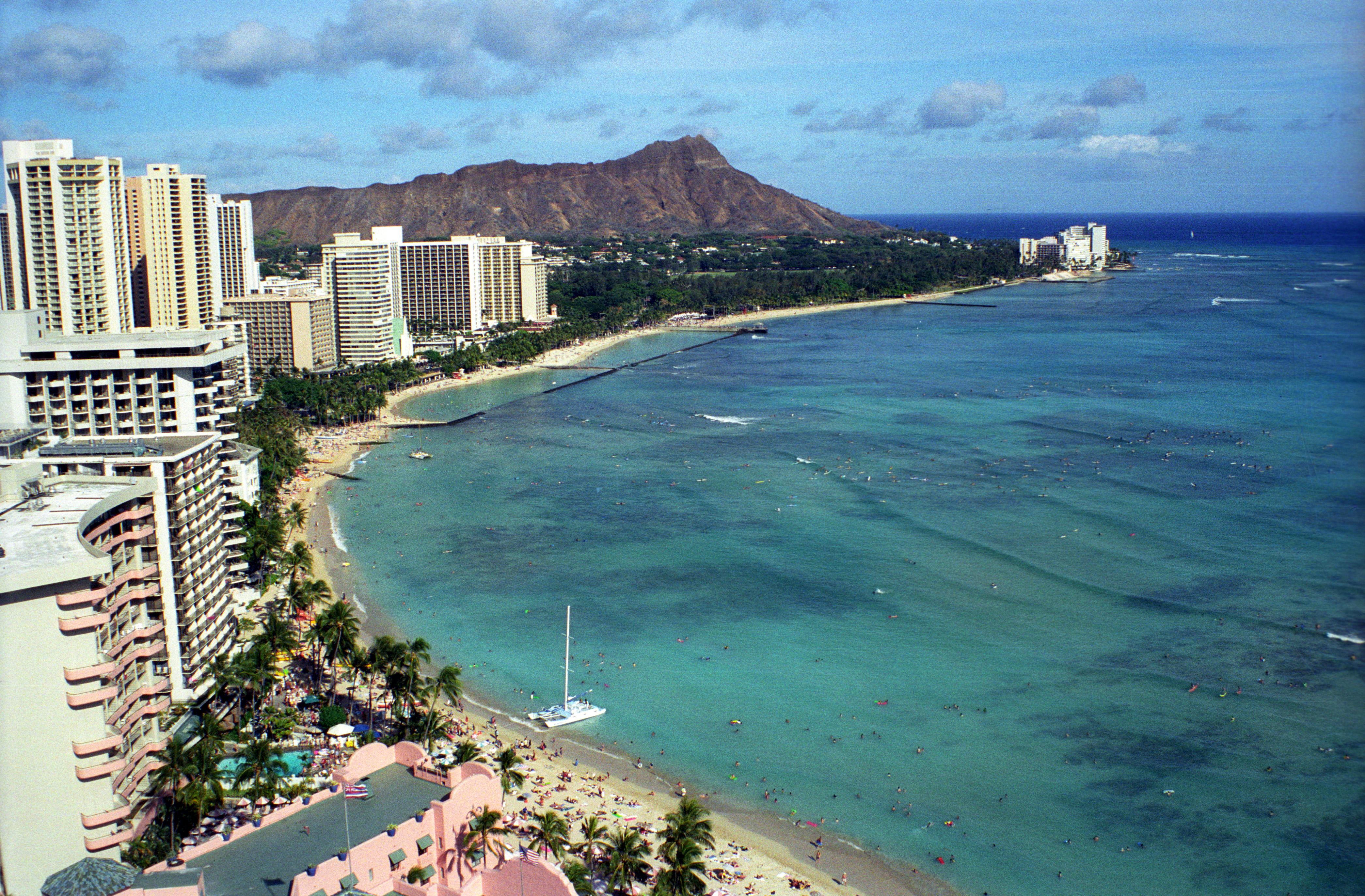 Waikiki Beach Wallpaper Hd: 4181x2745px Waikiki Beach Wallpaper