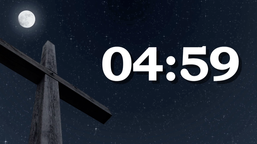 Countdown Background Clear Night Countdown   Worship 978x549