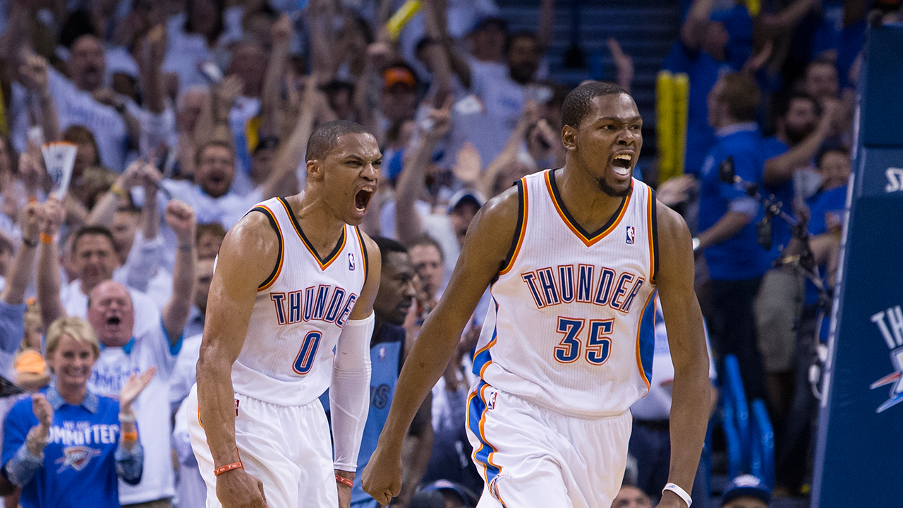 FunMozar Russell Westbrook And Kevin Durant Wallpapers 1280x720