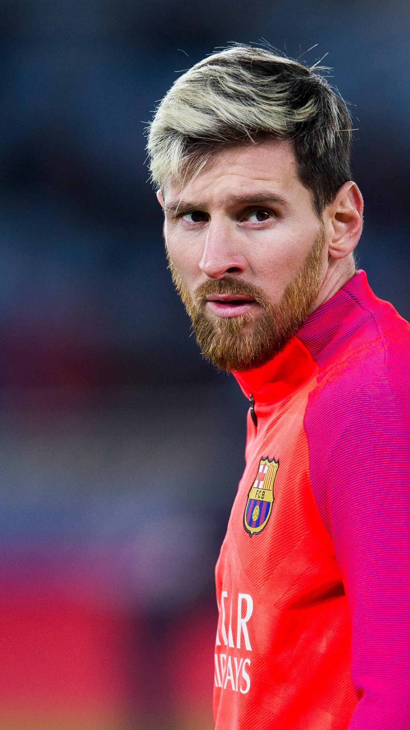 Wallpaper Lionel Messi Barcelona FCB soccer 4K Sport 19805 1440x2560