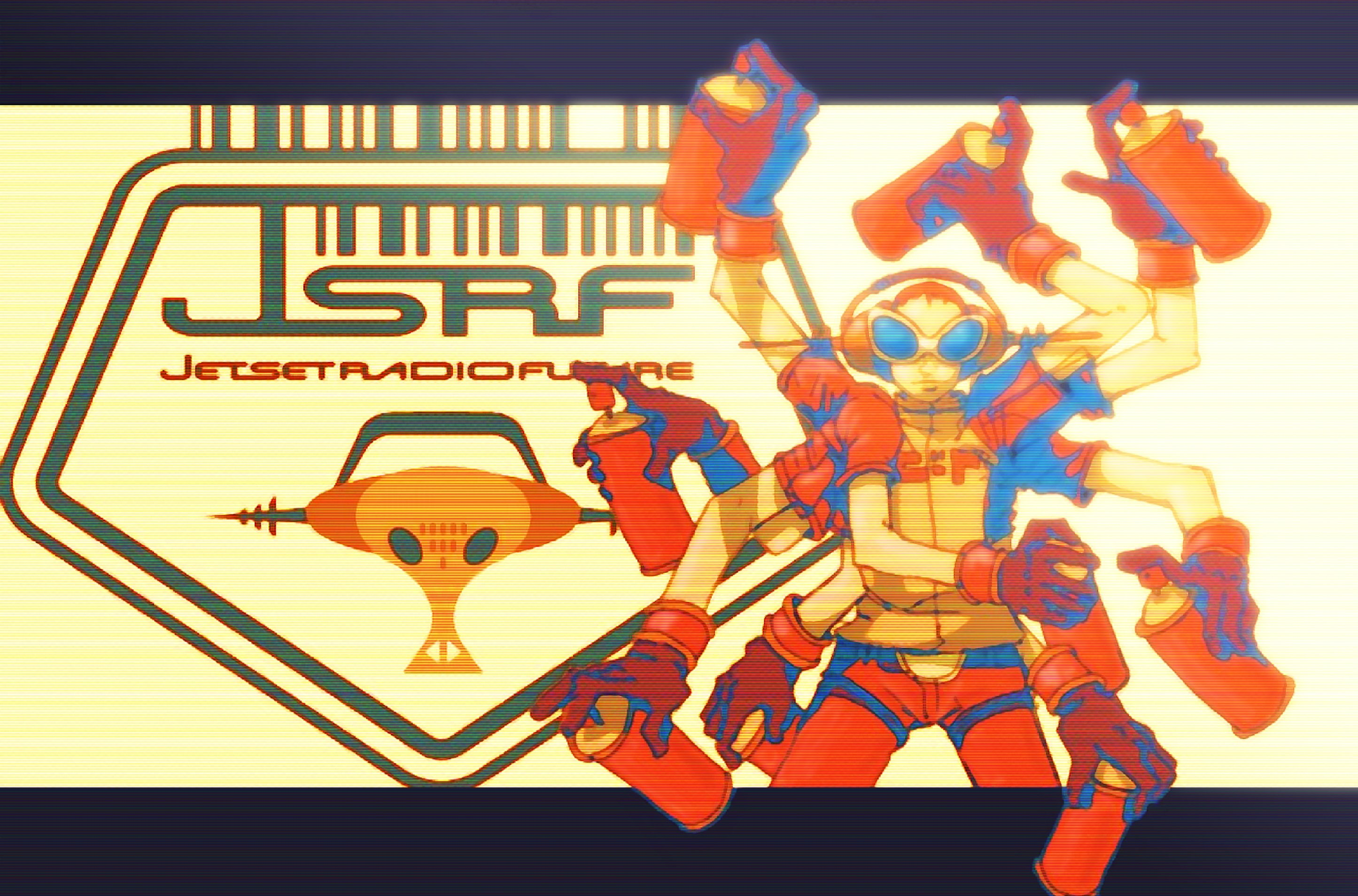 48 Jet Set Radio Future Wallpaper On Wallpapersafari