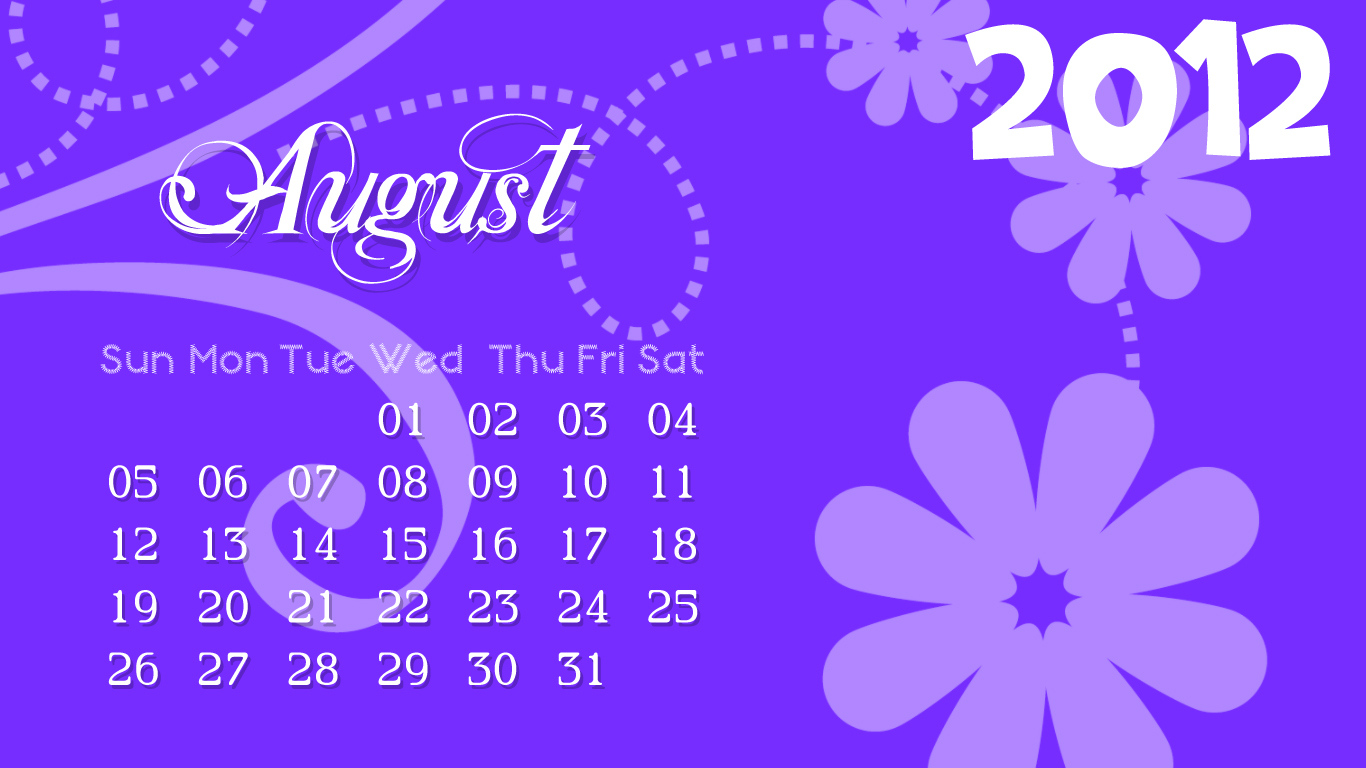 like that 2012 Calendar Wallpaper Floral Design 1366x768 1366x768