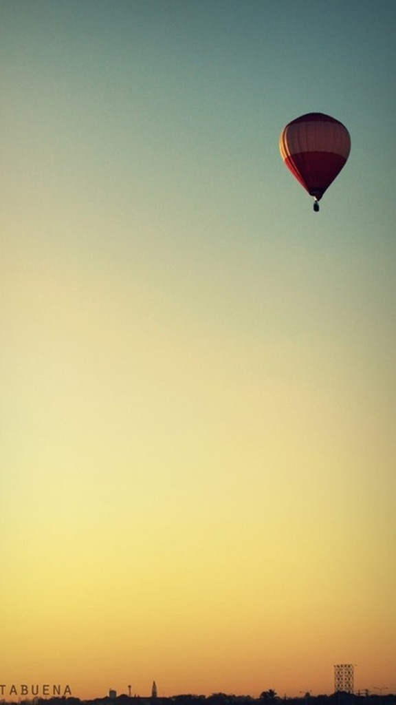 Colorful Hot Air Balloon Wallpaper   iPhone Wallpapers 576x1024