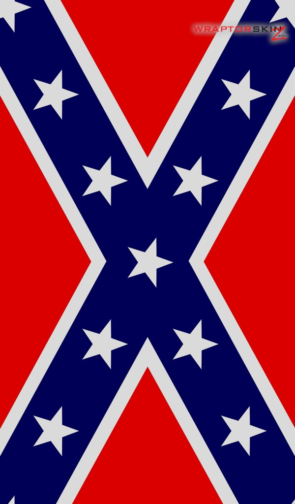Kindle Fire Original Decal Style Skin   Confederate Rebel Flag 02 600x1024
