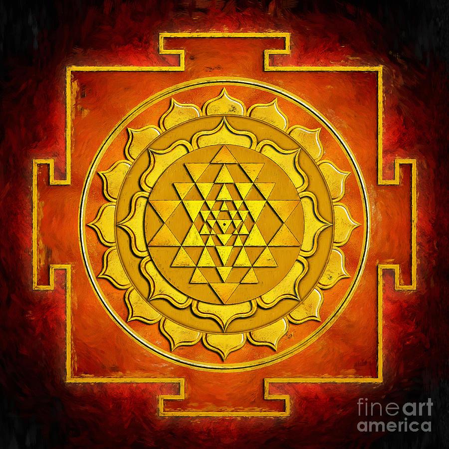 Free download Sri Yantra Mandala At 1152 X 864 Pixels HD