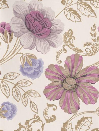 02   Designers Guild Wallpapers   Stunning ornate botanical design 392x517