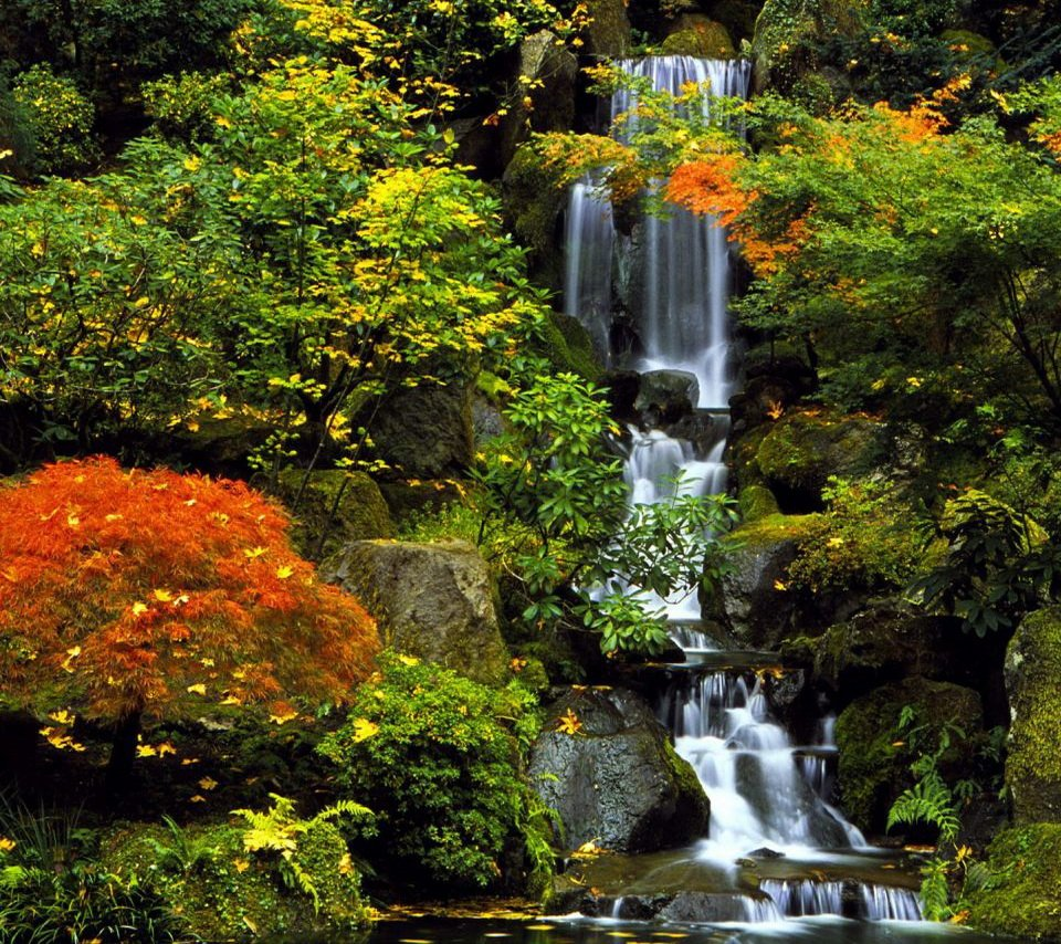 Waterfall Screensavers and Wallpaper 960x854