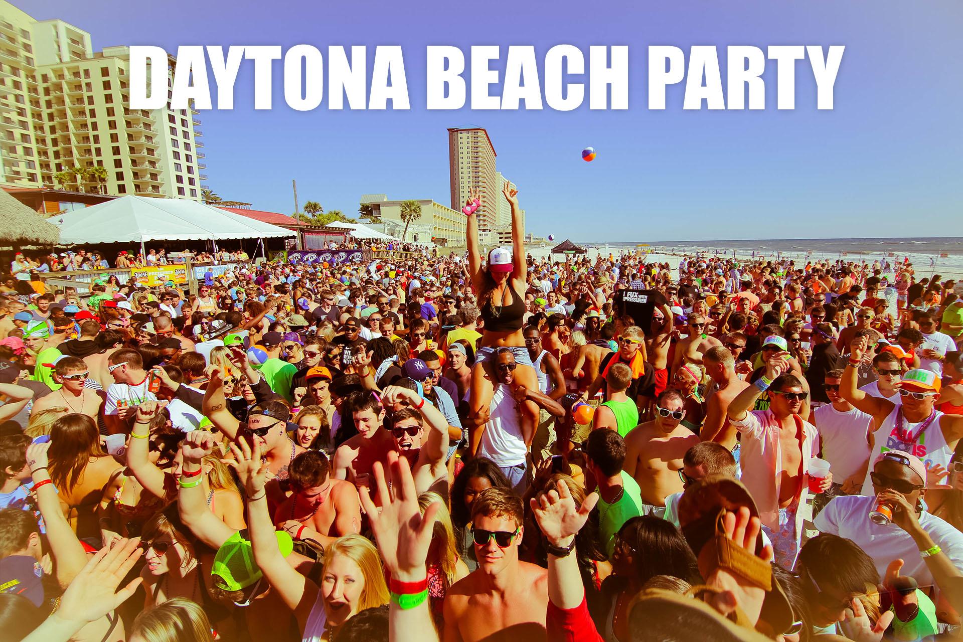 Daytona Beach Party HD wallpaper background 1920x1280