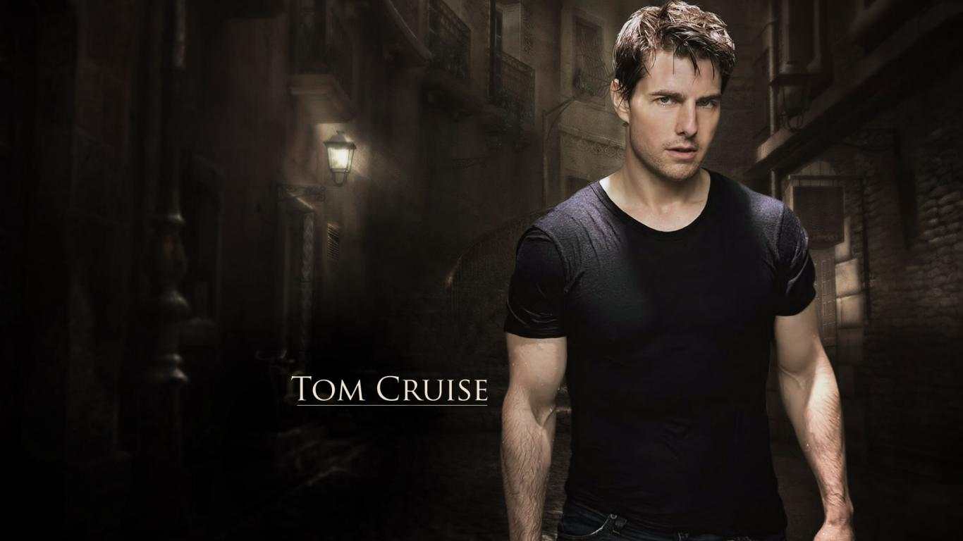 Tom Cruise   Hollywood   Actors Wallpapers Download FREE MrPopat 1366x768