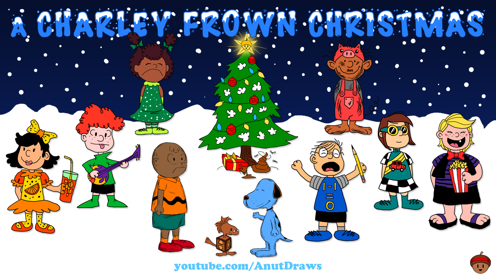 Charlie Brown Christmas Computer Wallpapers Desktop Backgrounds 1920x1080