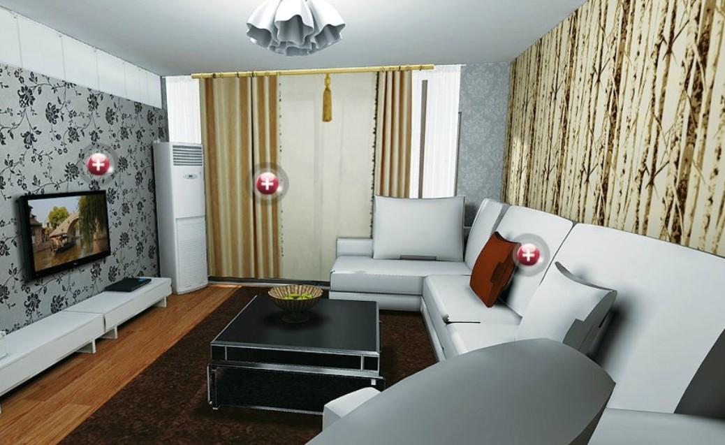 Living room wallpaper ideas Interior Design 1038x637